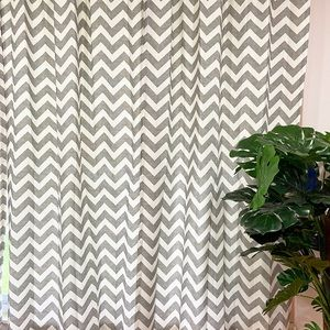 Urban Outfitters Accents - Urban Outfitters Gray Chevron Curtains (2)